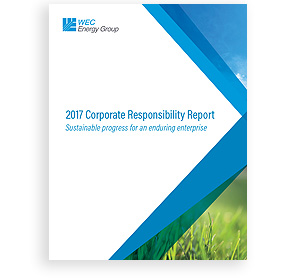 2017 Corporate Responsibility Report cover