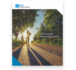 2018 Corporate Responsibility Report cover