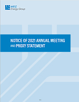 Notice of 2021 Annual Meeting and Proxy Statement