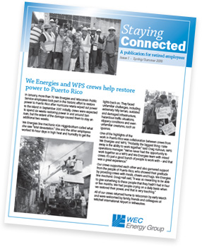 Staying Connected newsletter
