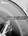 Notice of 2015 Annual Meeting and Proxy Statement